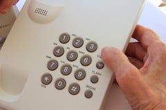 Telephone keypad Stock Photography