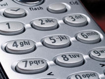 Telephone Keypad Stock Photography