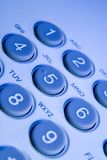 Telephone keys Royalty Free Stock Photo