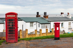 Telephone and Letter box Stock Photos