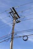 Telephone Line Stock Photo