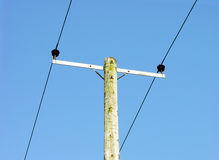 Telephone lines Royalty Free Stock Images