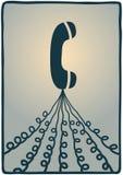 Telephone lines Royalty Free Stock Photo