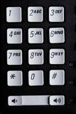 Telephone number pad Stock Images