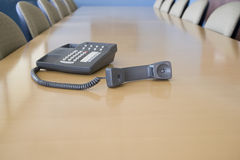 Telephone off the hook Royalty Free Stock Images
