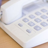 Telephone in office Royalty Free Stock Photo