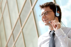Telephone operator Royalty Free Stock Photography