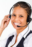 Telephone operator Royalty Free Stock Images