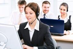 Telephone operator Royalty Free Stock Image