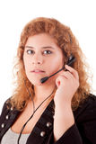 Telephone Operator Royalty Free Stock Photography