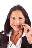 Telephone Operator Stock Photo