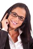 Telephone Operator Stock Image