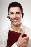 Telephone operator Stock Image