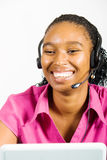 Telephone operator Royalty Free Stock Image