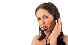 Telephone Operator Stock Images
