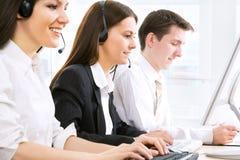 Telephone operators Stock Photography