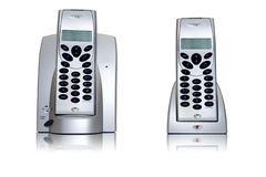 Telephone pair Royalty Free Stock Images