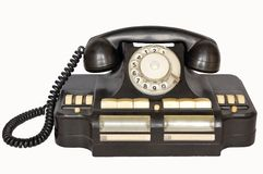Telephone period USSR. A vintage telephone period USSR Stock Images