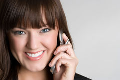 Telephone Person Stock Photo