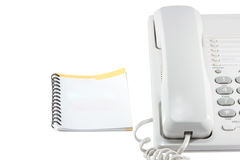 Telephone and phonebook. Royalty Free Stock Photography