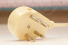 Telephone plug Royalty Free Stock Photo
