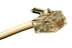 Telephone pluggar Arkivfoton