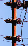 Telephone pole Stock Photos