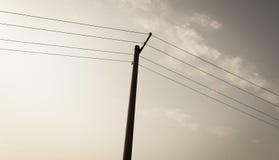 Telephone pole Stock Photography