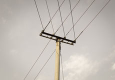 Telephone pole Royalty Free Stock Photo