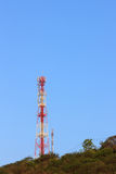 Telephone pole Royalty Free Stock Images
