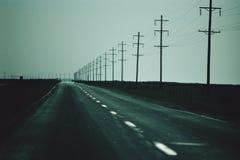 Telephone poles Stock Image