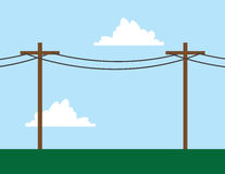 Telephone Poles Stock Images