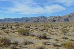 Way to Panamint and Death Valley California Stock Photography