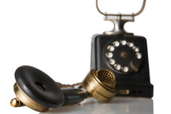 Telephone receiver Stock Images