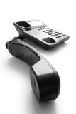 Telephone with receiver Stock Photography