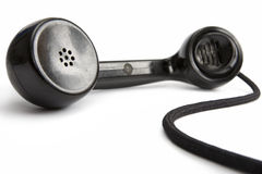 Telephone receiver Stock Image