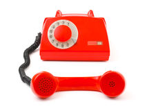 Telephone and receiver Stock Images