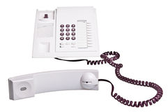 Telephone with receiver off Stock Photos