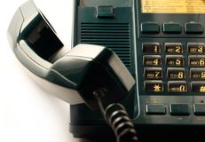 Telephone receiver Royalty Free Stock Images