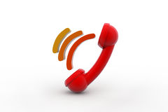 Telephone receiver Royalty Free Stock Image