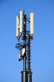 Telephone repeater for mobile phones. On the heights of Finale Ligure Royalty Free Stock Image