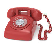 Telephone, Retro. Stock Photos
