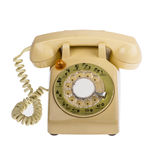 Telephone retro style isolated Stock Photography