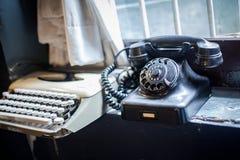 Telephone retro style Royalty Free Stock Image