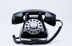 Telephone retro with white space Royalty Free Stock Images