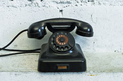 Telephone with rotary dial Royalty Free Stock Photo