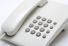 Telephone set Royalty Free Stock Images