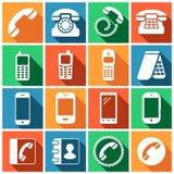 Telephone set Royalty Free Stock Image