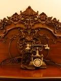 Telephone set in retro style Stock Photography