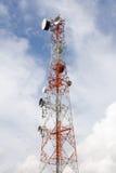 Telephone signal pole Stock Photos